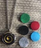 Halskette Aromatherapie Spirale