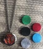 Halskette Aromatherapie Engelsflügel