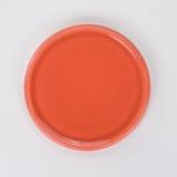 Keramikuntersetzer orange