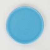 Keramikuntersetzer blau